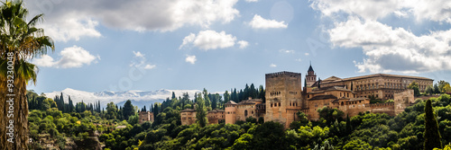 Canvas Prints Monument La Alhambra en Granada