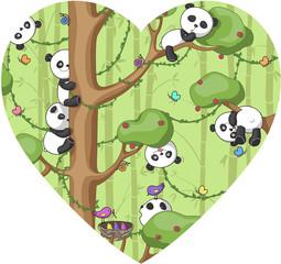Fototapetafunny panda