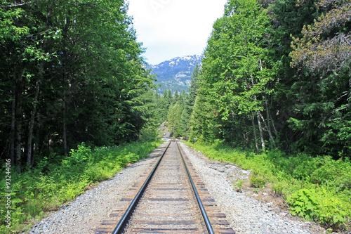 Photo  Railway Track in Canada