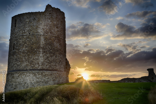 Hadleigh Castle: An Old Medival Derelict Castle Wallpaper Mural