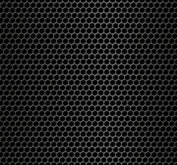 Realistic seamless vector metallic grid. Seamless pattern.Vector background.