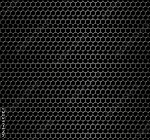 Türaufkleber Metall Realistic seamless vector metallic grid. Seamless pattern.Vector background.