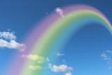 Fototapeta Rainbow - 虹