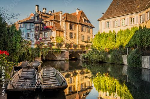 Photo Colmar, Petite Venise, Alsace, France.