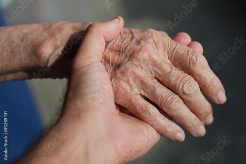 Fotografie, Obraz  SOS anziani