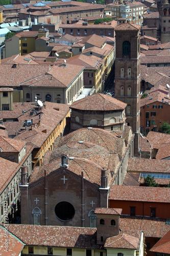 Italia,Emilia Romagna, Bologna, basilica San Giacomo Maggiore. - Buy ...