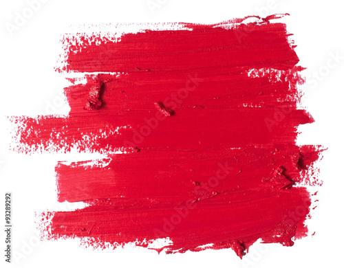 Fotografiet  red lipstick texture