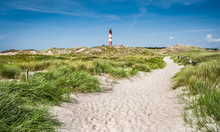 Dune Landscape With Lighthouse...