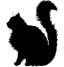 Silhouette Cat