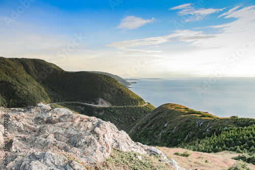 Photographie Cape Breton scenic view