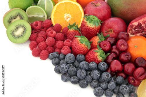 soczysty-owoc-zdrowe-mieszane-swieze-owoce-o-wysokiej-zawartosci-przeciwutleniaczy-witaminy-c-i-blonnika-pokarmowego-z-miejscem-na-kopie