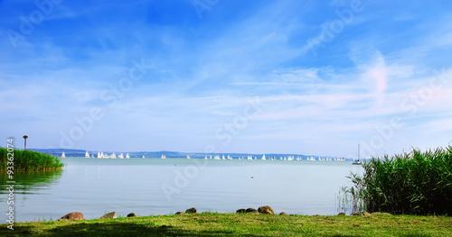 Photo  Hungary. Beautiful views of Lake Balaton.