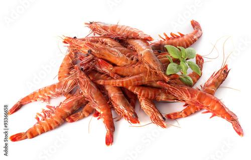 Fotografie, Obraz  Drunken shrimp