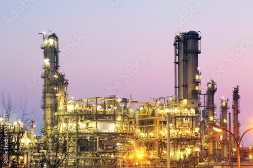 Staande foto Industrial geb. Inustry - Oil Refinery, Petrochemical plant