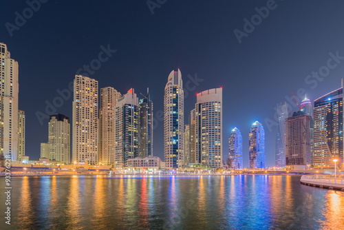 Recess Fitting Shanghai Dubai - JANUARY 10, 2015: Marina district on January 10 in UAE