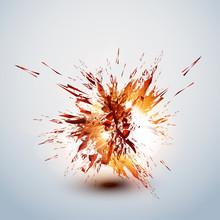 Explode Grunge Background Easy...