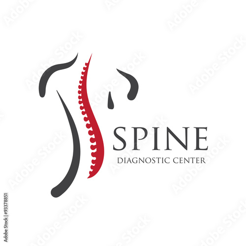 Fotografia  Medical diagnostic spine center?