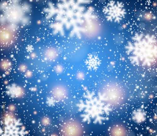 Winter Background. - 93381602