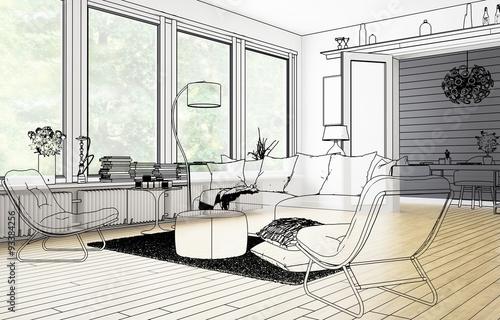 Im Wohnzimmer (Vision)