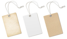 Blank Cardboard Price Tags Or ...