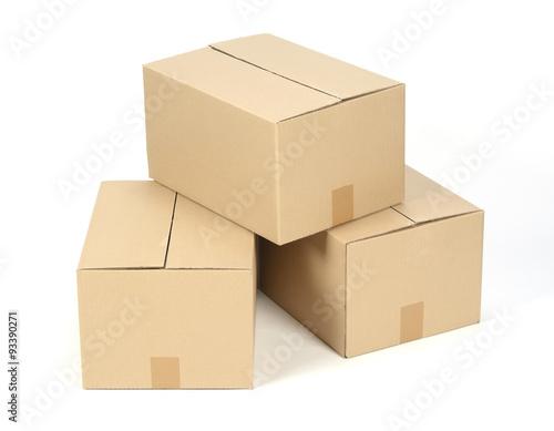 Fotografía  Cajas de cartón