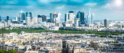 vista della Defense dalla torre Eiffel #93391261
