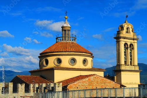 Fotografie, Obraz  Dome of Santa Maria delle Carceri, Prato, Italy