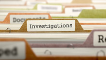 Investigations Concept On File...