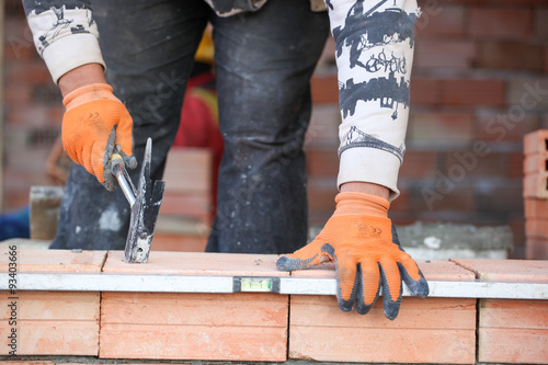 Fototapeta bricklayer obraz na płótnie
