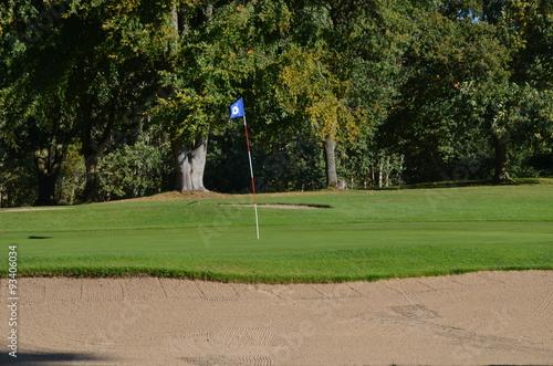 Photo  Golfplatz im Herbst