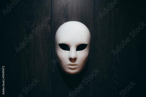 Fotografie, Obraz  Mask on the wall
