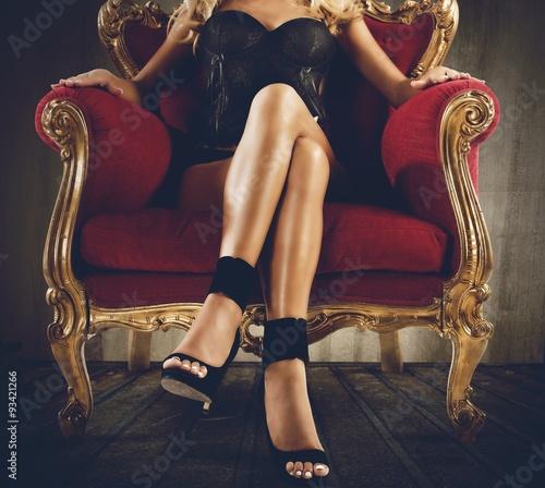 Obraz Sensual provocation - fototapety do salonu