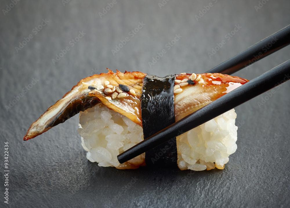 Photo  Eel sushi