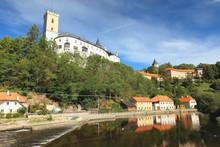 View Of The Castle Rozmberk, Czech Republic