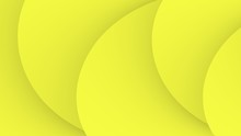 Simple Abstract Lemon Yellow Fractal Waves Background