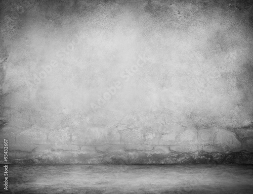 Photo sur Toile Brick wall Grunge Concrete Material Background Texture Wall Concept