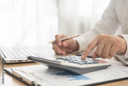 Fotografía account and finance