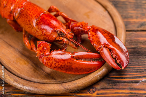 Photo  Boiled lobster