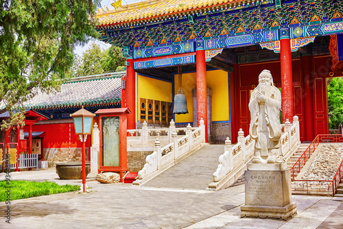 Foto op Aluminium Beijing Temple of Confucius at Beijing is the second largest Confucian T