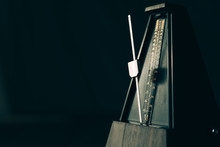 Vintage Metronome, On A Dark B...