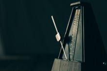 Vintage Metronome, On A Dark B...