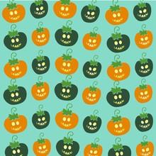 Funny Pumpkins Pattern 2