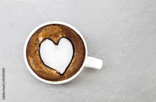 Foto op Plexiglas coffe cup
