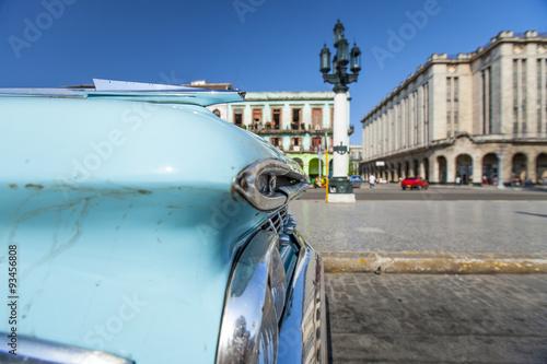Papiers peints Havana American car, Havana, Cuba, West Indies, Caribbean, Central America