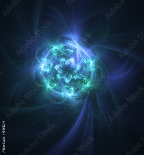 Abstract fractal background for creative design Poster