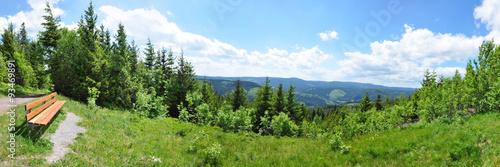 Panoramafoto Thüringer Wald © Henry Czauderna