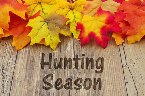 Fotobehang Jacht Hunting Season