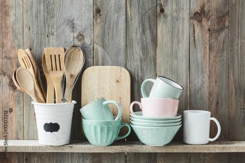 Foto-Plissee - Kitchen utensils (von Alena Ozerova)