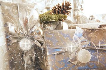 FototapetaWeihnachtsgeschenke