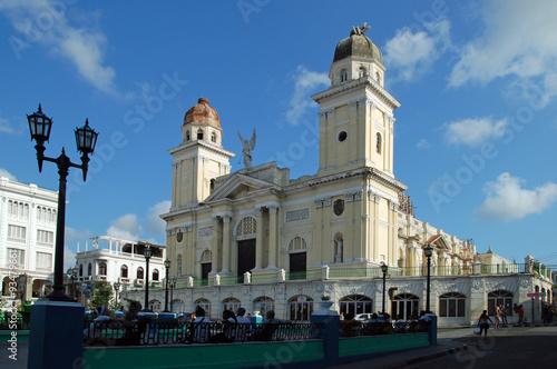 Kathedrale von Santiago de Cuba Canvas Print